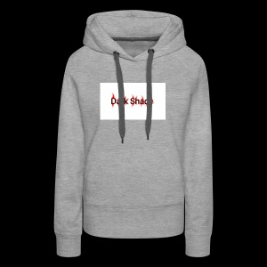 Dark Shade White - Women's Premium Hoodie