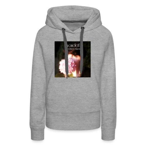 WONDERFUL OFFICIAL ALBUM ART - Women's Premium Hoodie