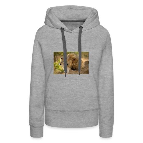 lions in love - Women's Premium Hoodie