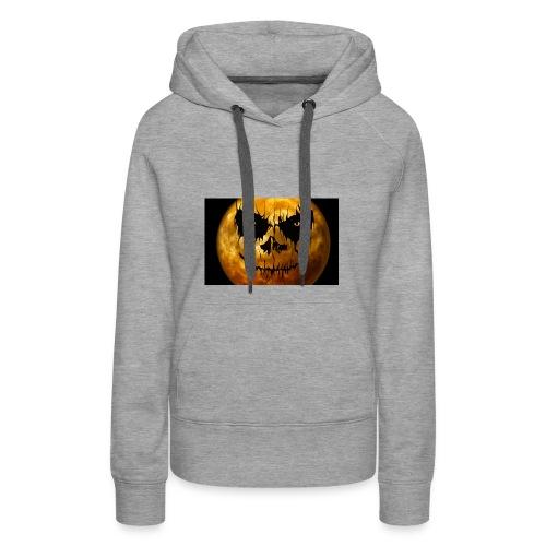 moon for halloween - Women's Premium Hoodie