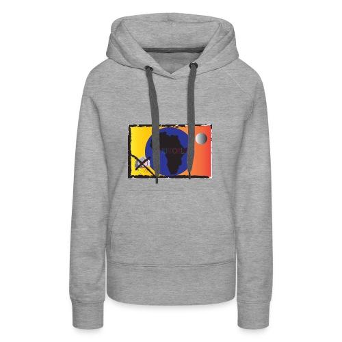 KariworlD OG logo - Women's Premium Hoodie