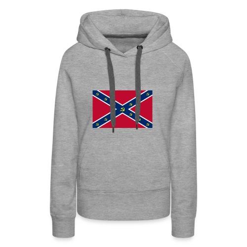 Confederate Communism - Women's Premium Hoodie