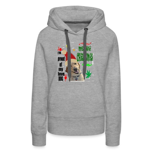 christmas with your dog - Women's Premium Hoodie