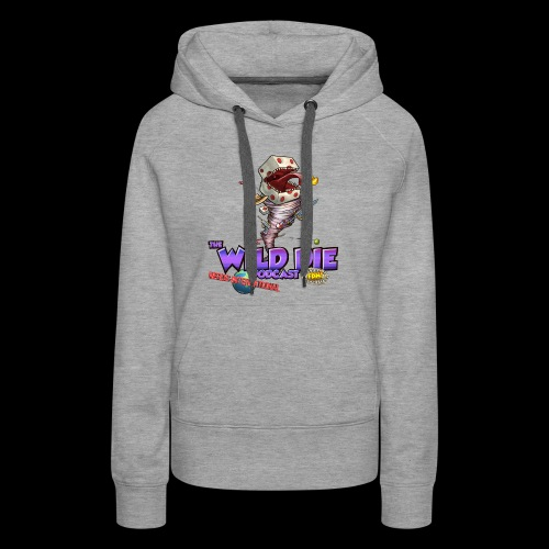The Wild Die Podcast with N-I logo - Women's Premium Hoodie