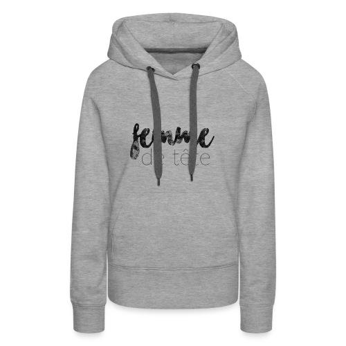 Femme de tête - Women's Premium Hoodie