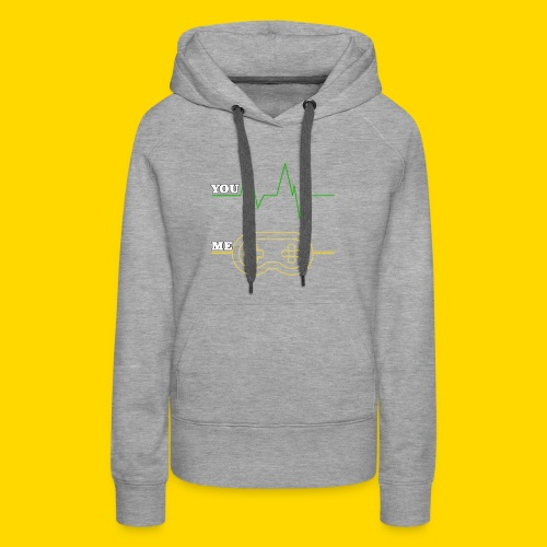 Gamer Heart beat - Women's Premium Hoodie