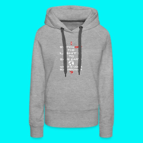 Save Planet - Women's Premium Hoodie