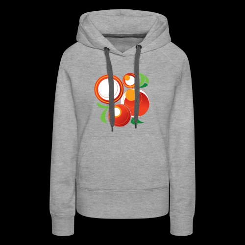 Abstract Oranges - Women's Premium Hoodie