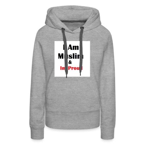 I Am Muslim - Women's Premium Hoodie