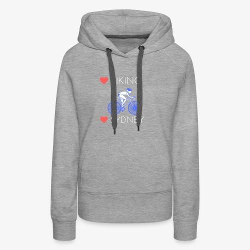 Love Biking Love Sydney tee shirts - Women's Premium Hoodie