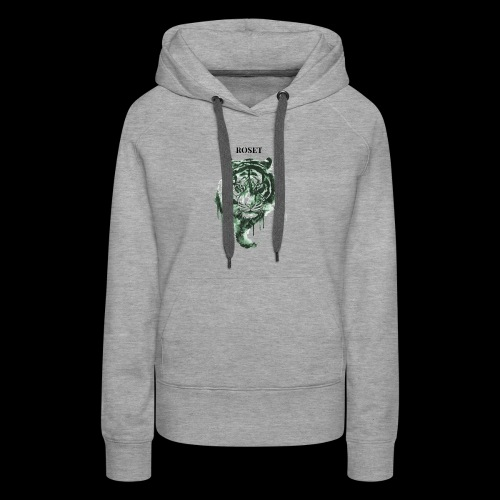 Roset Green Lion - Women's Premium Hoodie