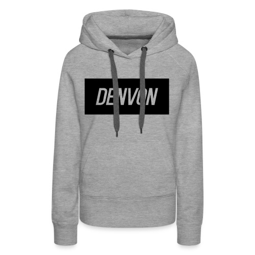 Denvonshirtlogo - Women's Premium Hoodie