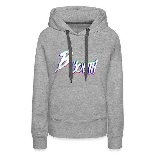 BYOUTH GLITCH - Women's Premium Hoodie