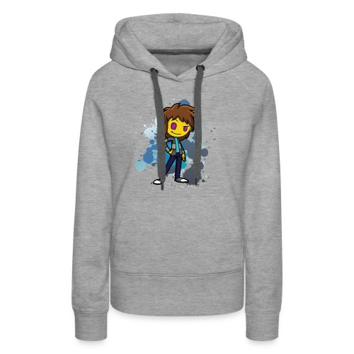 Darkar Paint Blue - Women's Premium Hoodie