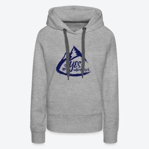 Say Yes to Adventure - Dark - Women's Premium Hoodie