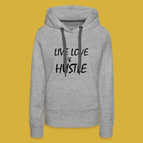 LLH black 01 - Women's Premium Hoodie