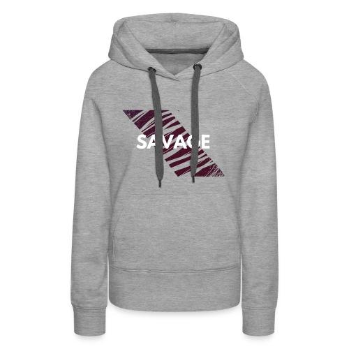 SAVAGE - Women's Premium Hoodie