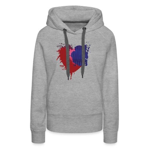 Painted Heart - Women's Premium Hoodie