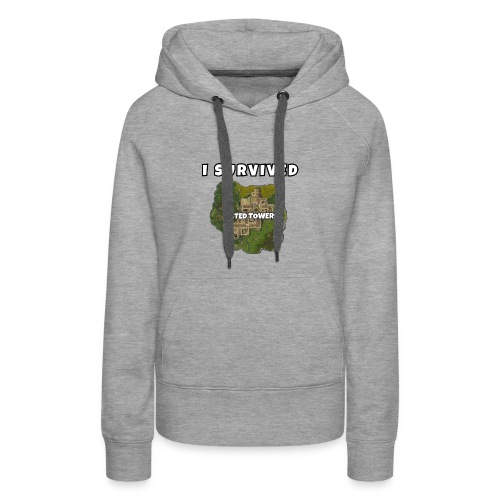 I SURVIVED TILTED TOWERS - Women's Premium Hoodie