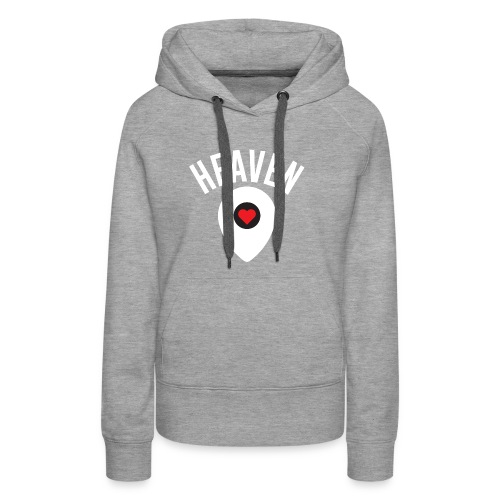 Heaven Is Right Here - Women's Premium Hoodie