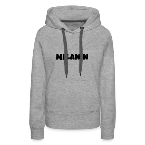 Melanin #PandaDESIGNS - Women's Premium Hoodie