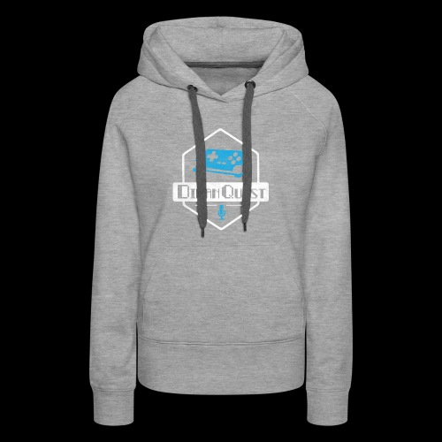 DivanQuest Logo (Badge) - Women's Premium Hoodie