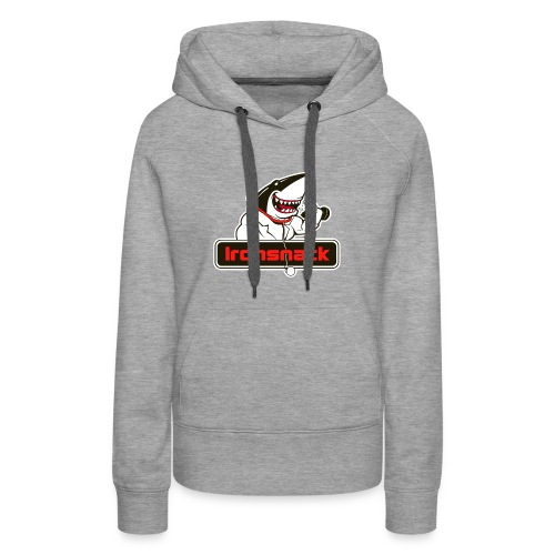 Ironsnack Crest Logo - Women's Premium Hoodie