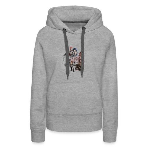 Attack on Titan 2017 new design - Women's Premium Hoodie