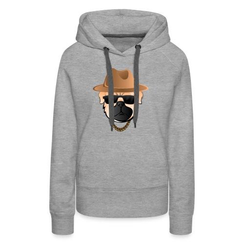 Classic Pug - Women's Premium Hoodie