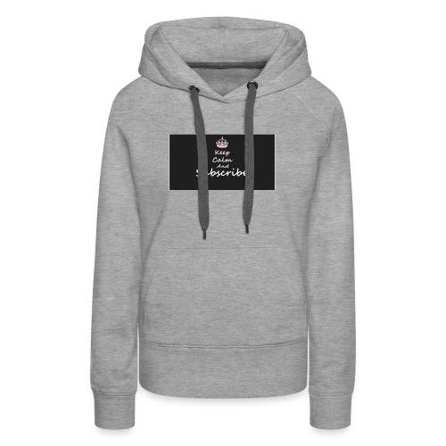 Keep Calm Merch - Women's Premium Hoodie