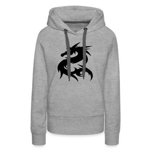 Dragon Nepal T-shirt - Women's Premium Hoodie