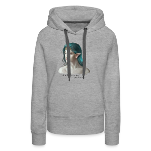 Bunian, the Time traveler - Women's Premium Hoodie