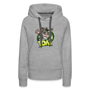Talking_TOM_wave_preview_lowRes - Women's Premium Hoodie