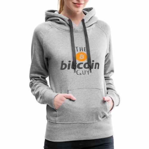 The Bitcoin Guy - Women's Premium Hoodie