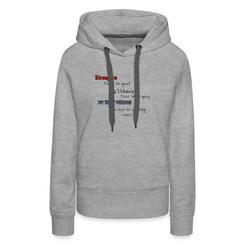 what they think - Women's Premium Hoodie