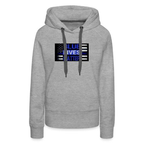 blue-lives-matter-membership-1-1024x538 - Women's Premium Hoodie