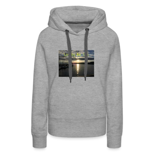 Live by the sea - Women's Premium Hoodie