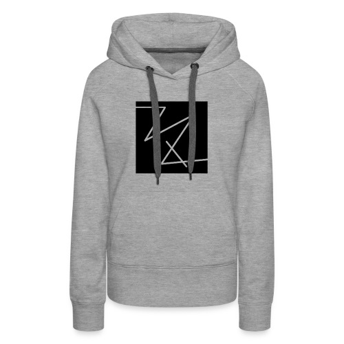classic logo (black) - Women's Premium Hoodie