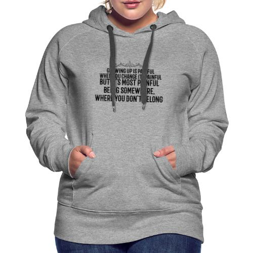 No Pain - Women's Premium Hoodie