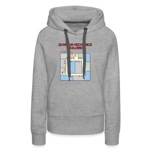 Colored Quantum Mechanics Building - Women's Premium Hoodie