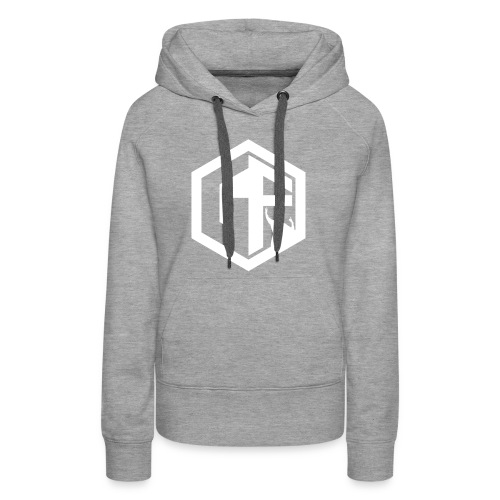 GF Logo Whitek - Women's Premium Hoodie