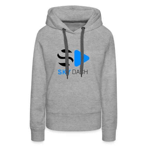 Sky Dash LOGO - Women's Premium Hoodie