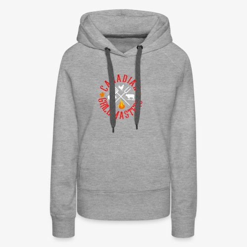 Canadian Grill Master Logo - Women's Premium Hoodie