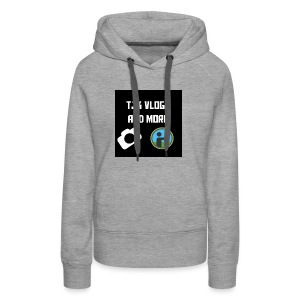 TJK Vlogs and More logo clothing - Women's Premium Hoodie