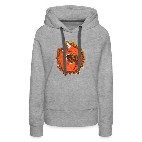 Sleepy fox - Women's Premium Hoodie