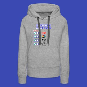 All About Fake News - Women's Premium Hoodie