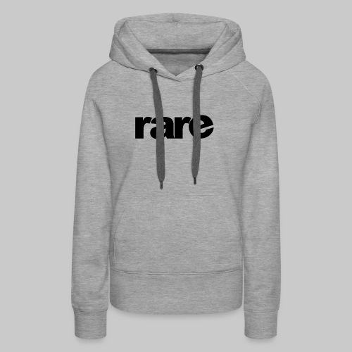 Quality Womens Tshirt 100% Cotton with Rare - Women's Premium Hoodie