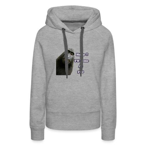 Monkey t-shirt - Women's Premium Hoodie