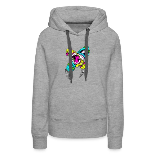 Monsters Skate - Women's Premium Hoodie