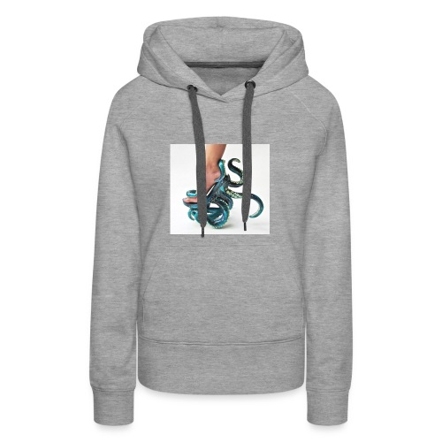 squid shoe weird fashion - Women's Premium Hoodie